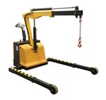 Adjustable Electric Powered Floor Crane
