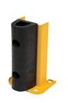 "Structural Rack Guard with Bumper, 12"" x 8"""