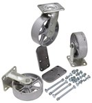 "6"" x 2"" Semi-Steel Caster Kit"