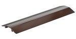 "Extruded Aluminum Hose & Cable Crossover, Brown, 24"" x 7"""