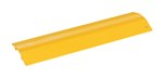 "Extruded Aluminum Hose & Cable Crossover, Yellow, 24"" x 7"""