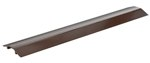 "Extruded Aluminum Hose & Cable Crossover, Brown, 36"" x 7"""
