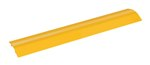"Extruded Aluminum Hose & Cable Crossover, Yellow, 36"" x 7"""