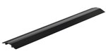 "Extruded Aluminum Hose & Cable Crossover, Black, 48"" x 7"""