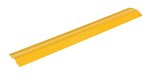 "Extruded Aluminum Hose & Cable Crossover, Yellow, 48"" x 7"""