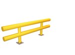 "Heavy Duty Guard Rail, 120""L x 27""H"