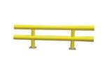 "Heavy Duty Guard Rail, 72""L x 27""H"