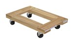Hardwood Dolly, Open Deck, 16 x 24, 1.2K