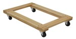 Hardwood Dolly, Open Deck, 24 x 36, 1.2K