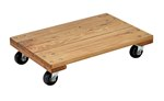 Hardwood Dolly, Solid Deck, 16 x 24, 1.2K