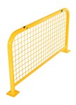 High Profile Machinery & Rack Guard, w/Mesh, 48 x 24 x 2