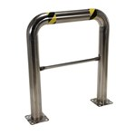 High Profile Machinery & Rack Guard, 36 x 42 x 4, Stainless Steel