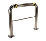 High Profile Machinery & Rack Guard, 48 x 42 x 4, Stainless Steel