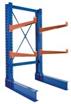 "HD Cantilever Rack Set, 8' High Double Sided, 24"" Arms"