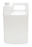 Rectangular Plastic Jug, 1 Gallon