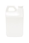 Rectangular Plastic Jug, 64oz.