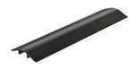 "Extruded Aluminum Hose & Cable Crossover, Black, 36"" x 9"""