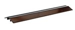 "Extruded Aluminum Hose & Cable Crossover, Brown, 36"" x 9"""