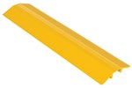 "Extruded Aluminum Hose & Cable Crossover, Yellow, 36"" x 9"""