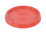 Pail Lid with Tear Tab, 3.5 to 6 Gallon, Red