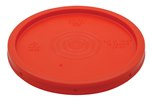 Pail Lid, Standard, 5 Gallon, Red