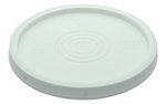 Pail Lid, Standard, 5 Gallon, White