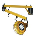 LED Loading Dock Light, Double Arm, 40""