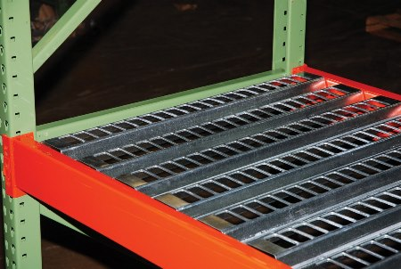 "Open Area Pallet Rack Decking, 42""D x 120""L"