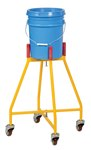 Ergo Elevated Bucket, Pail Dolly