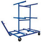 Storage Cart for Crowd Control Barriers
