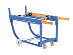 Rotating Drum Cart, with Steel Wheels, 1k