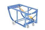 Rotating Drum Cart, with Steel Wheels