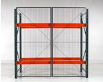 "Double Hinged Rack Gate, 120"" x 96"""