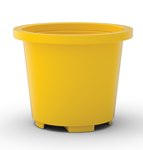 Drum Container Base, Yellow