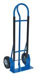 HD Steel P Handle Hand Truck, 20 x 16 x 52, Pneumatic Tires