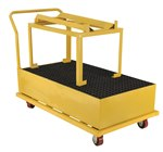 Spill Pallet, Horizontal, Yellow, 1 Drum