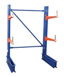 "STD Cantilever Rack, 6' Single Side, 24"" Arm Set"