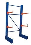 "Cantilever Rack, 8' Single Side, 24"" Arm Set"