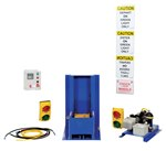 Trailer Lock System, Elec/Hyd, with Poly Light Package