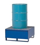 Vertical Drum Retention Basin, 1 Drum