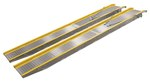 "Aluminum Twin Auto Loading Ramp, 18"" x 120"""