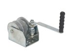 Wall Mounted Hand Winch, Double
