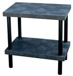 Solid Plastic Work Bench Table, 36 x 24 x 36