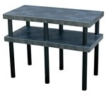 Solid Plastic Work Bench Table, 48 x 24 x 36