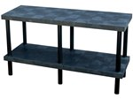 Solid Plastic Work Bench Table, 66 x 24 x 36